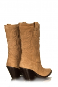 Toral : Western suede boots Bambi | brown - img4