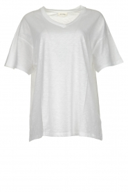 American Vintage |  Basic T-shirt Idolmint | white  | Picture 1