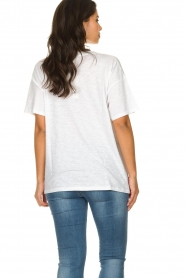 American Vintage |  Basic T-shirt Idolmint | white  | Picture 5