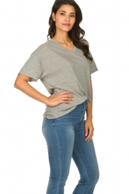 American Vintage |  Basic T-shirt Idolmint | grey  | Picture 3