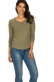 American Vintage |  Longsleeve top Sonoma | green  | Picture 2