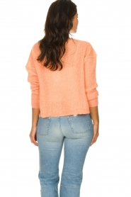 American Vintage |  Knitted sweater Zazow | peach  | Picture 5