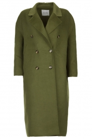 American Vintage |  Oversized coat Dadoulove | green  | Picture 1