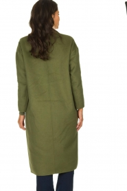 American Vintage |  Oversized coat Dadoulove | green  | Picture 5