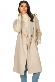 American Vintage |  Oversized coat Dadoulove | grey  | Picture 2