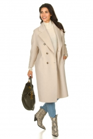 American Vintage |  Oversized coat Dadoulove | grey  | Picture 3