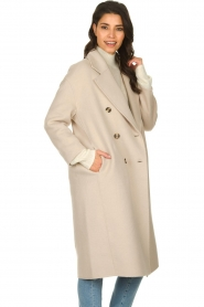 American Vintage |  Oversized coat Dadoulove | grey  | Picture 4