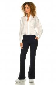 American Vintage |  Classic blouse Krimcity | white   | Picture 3