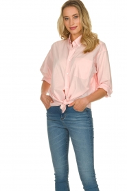 American Vintage |  Classic blouse Wild rose | pink  | Picture 2