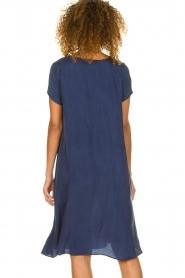 American Vintage |  Wide midi dress Hurricane | blue  | Picture 6