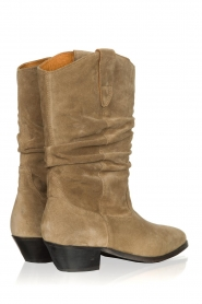 Catarina Martins |  Suede boot Aba | sand  | Picture 4