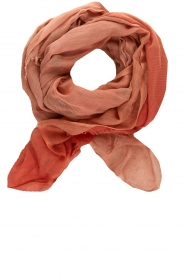 Moment by Moment |  Linen scarf Blue | pink  | Picture 1
