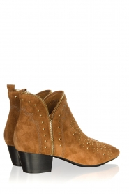 Sofie Schnoor |  Suede studded ankle boots Vally | brown  | Picture 4