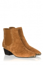 Sofie Schnoor |  Suede ankle boots Kristy | brown  | Picture 3
