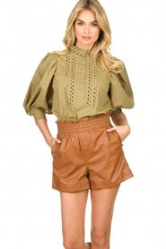 Antik Batik |  Popline blouse Malia   | Picture 2