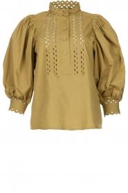 Antik Batik |  Popline blouse Malia   | Picture 1