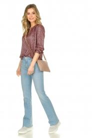 Depeche |  Leather shoulder bag Fine | pink  | Picture 2