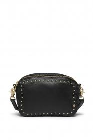 Depeche |  Leather shoulder bag Lille | black  | Picture 1
