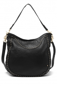 Depeche |  Leather shoulder bag Reese | black  | Picture 1