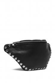 Depeche | Leather fanny pack Amanda | black  | Picture 3