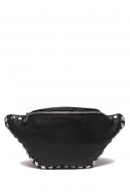 Depeche | Leather fanny pack Amanda | black  | Picture 1