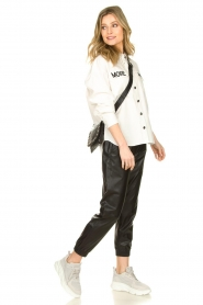 Depeche |  Leather shoulder bag Jill | black  | Picture 2