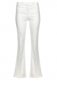 7 For All Mankind |  Flared jeans Lisha l34 | wit   | Picture 1