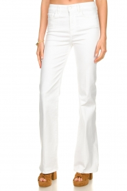 7 For All Mankind :  Flared jeans Lisha l34 | wit  - img4