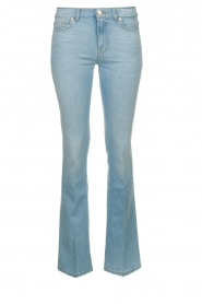 7 For All Mankind | Denim stretch flare Bootcut L34| blauw   | Afbeelding 1