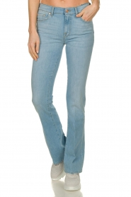 7 For All Mankind | Denim stretch flare Bootcut L34| blauw   | Afbeelding 4