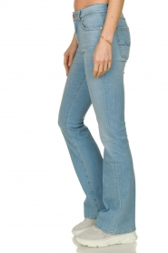 7 For All Mankind | Denim stretch flare Bootcut L34| blauw   | Afbeelding 5