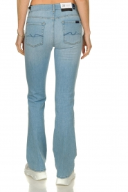 7 For All Mankind | Denim stretch flare Bootcut L34| blauw   | Afbeelding 6