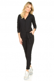 D-ETOILES CASIOPE |  Travelwear  jumpsuit Tiamo | black  | Picture 3