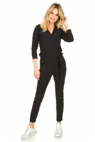 D-ETOILES CASIOPE |  Travelwear  jumpsuit Tiamo | black  | Picture 2