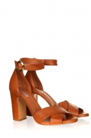 Matteo Pitti | Leather sandals Daphne | brown  | Picture 3