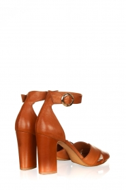 Matteo Pitti : Leather sandals Daphne | brown - img4