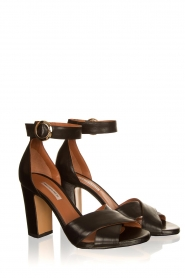 Matteo Pitti | Leather sandals Daphne | black  | Picture 3