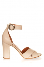 Matteo Pitti | Leather sandals Daphne | off-white  | Picture 1