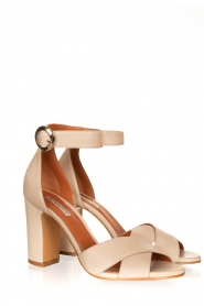 Matteo Pitti : Leather sandals Daphne | off-white - img3