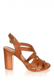 Matteo Pitti | Leather sandals Katja | brown  | Picture 1