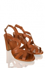 Matteo Pitti : Leather sandals Katja | brown - img3