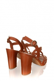 Matteo Pitti | Leather sandals Katja | brown  | Picture 4