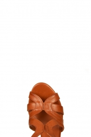 Matteo Pitti | Leather sandals Katja | brown  | Picture 5