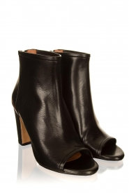 Matteo Pitti | Leather ankle boots Diver | black  | Picture 3