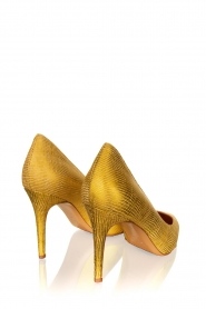 Matteo Pitti | Leather pumps Tejus | yellow  | Picture 4