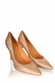 Matteo Pitti | Leather pumps Tejus | pink  | Picture 3