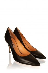 Matteo Pitti | Leather pumps Vitello | black  | Picture 3