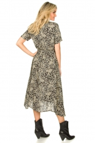 Lolly's Laundry |  Printed midi dress Blake | black  | Picture 5