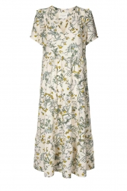 Lolly's Laundry |  Printed maxi dress Freddy | natural  | Picture 1