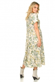 Lolly's Laundry |  Printed maxi dress Freddy | natural  | Picture 6
